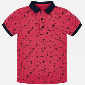 Polo estampado niño